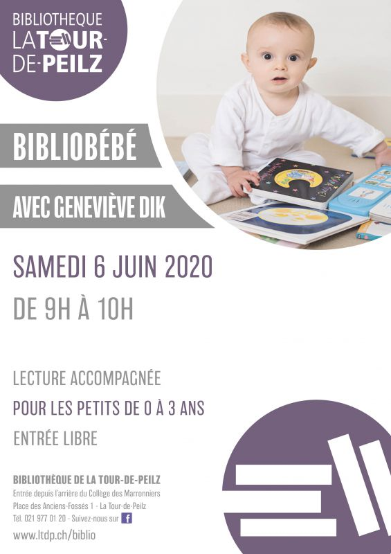 Bibliobébé avec Geneviève Dik