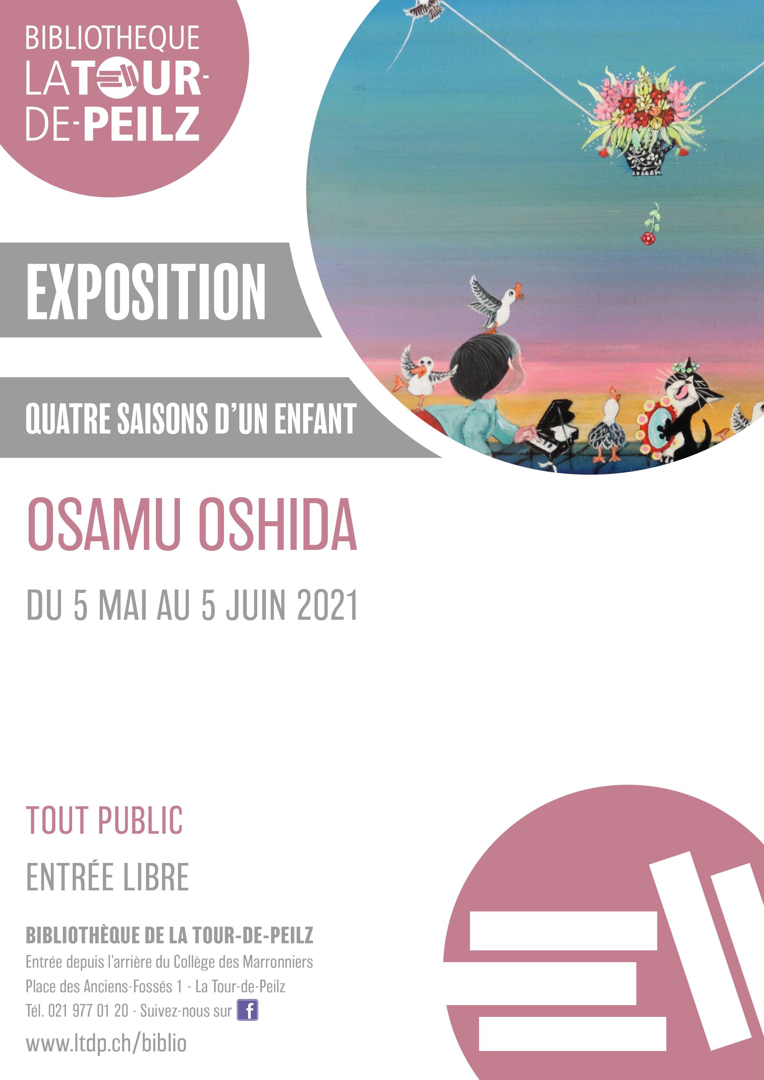 Exposition « Quatre saisons d'un enfant » d'Osamu Oshida